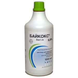 Препарат от кокцидиоза для кроликов Байкокс