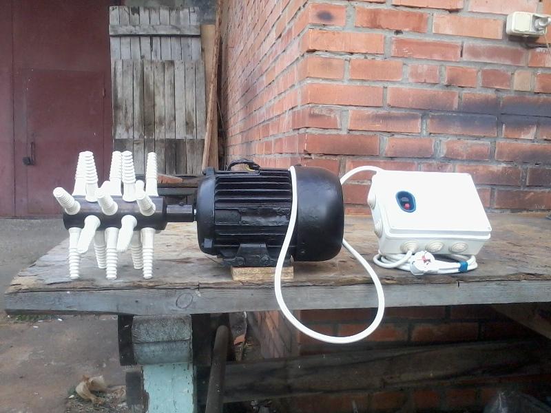 Изготовление перосъемной машины в домашних условиях