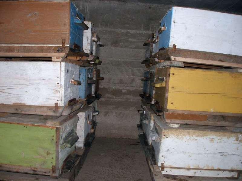 Зимовка пчел в омшанике и сарае