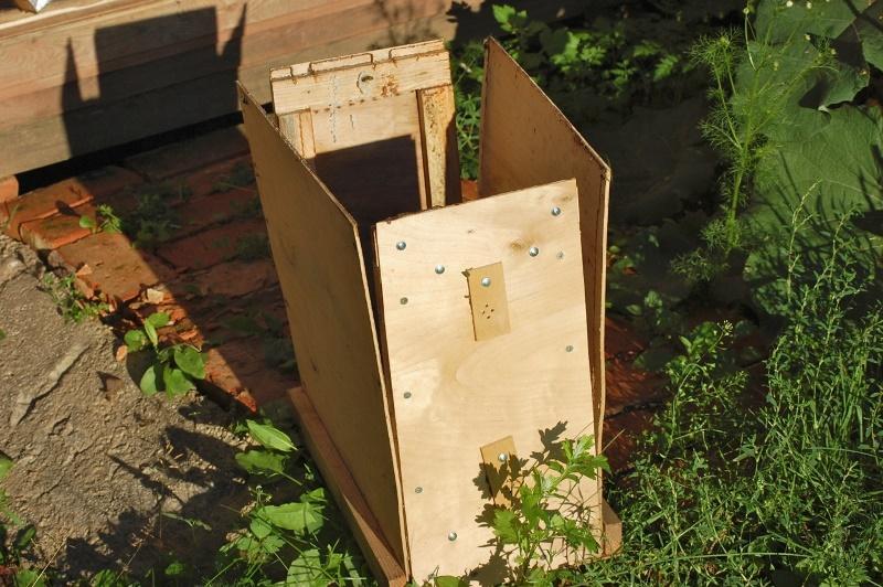 Изготовление ловушки для пчел