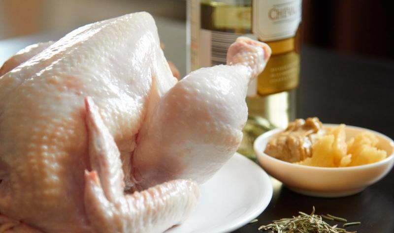 Быстрая разделка курицы