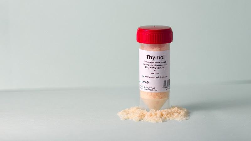 Описание и свойства тимола