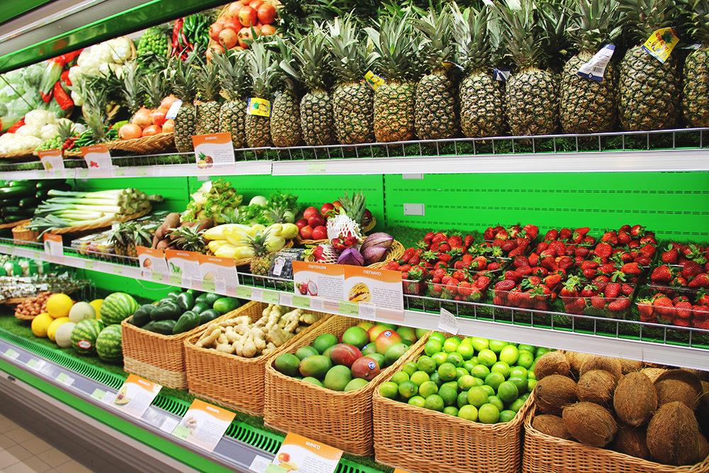 Как сохранить свежесть плодов на полках супермаркета